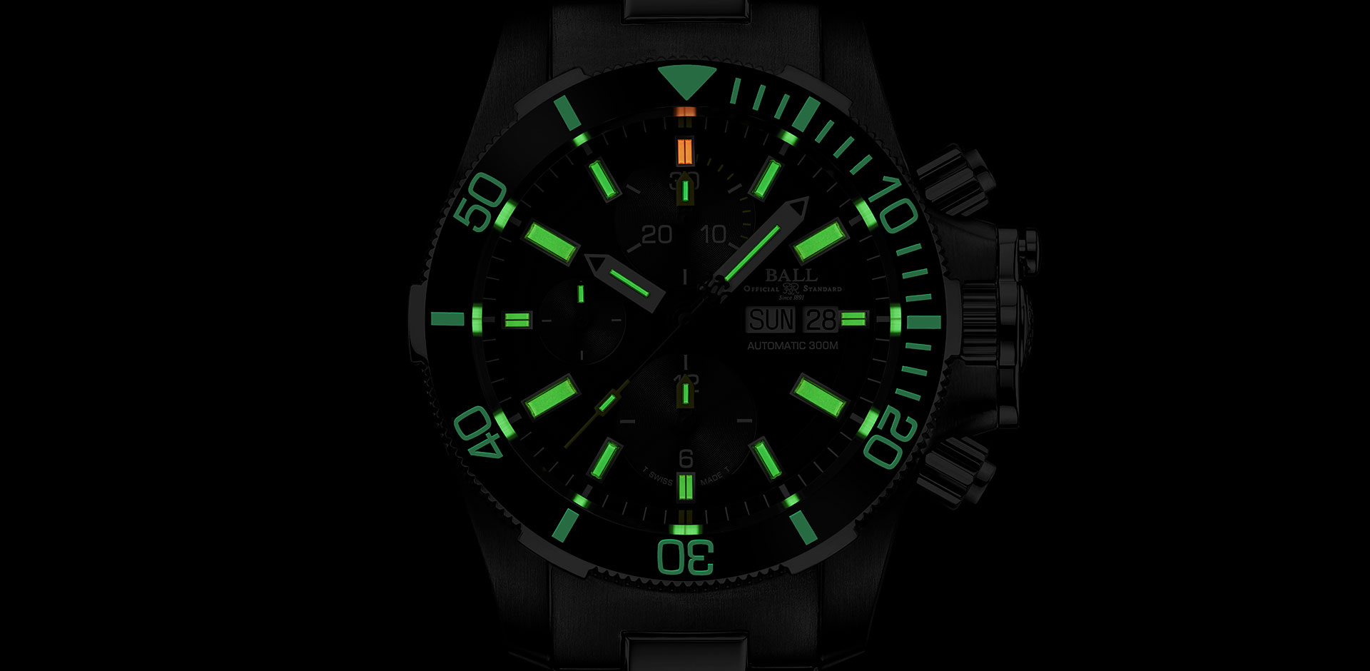 Submarine Warfare Ceramic Chronograph